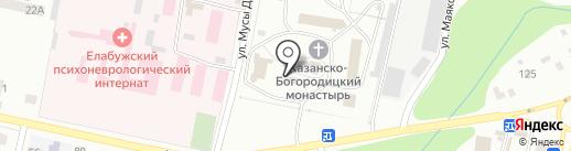 Церковная лавка на карте Елабуги