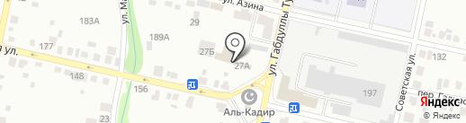для ВАС на карте Елабуги