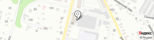 Производственная фирма на карте Елабуги