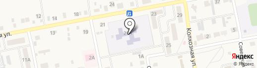 Аленушка на карте Бетьков
