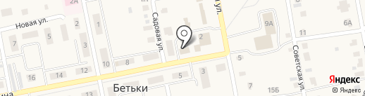 Чулман на карте Бетьков