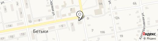 Исполнительный комитет Бетькинского сельского поселения на карте Бетьков