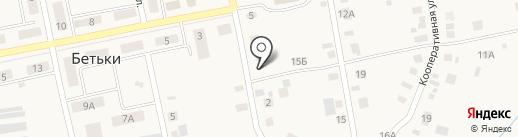 Коммунальные сети-Круглое Поле на карте Бетьков