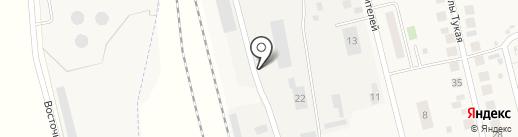 Автосервис на карте Круглого Поля