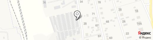 Локомотив на карте Круглого Поля