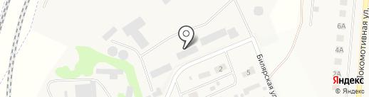 Крупол на карте Круглого Поля