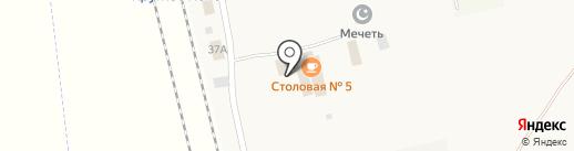 Буфет-столовая №5 на карте Круглого Поля