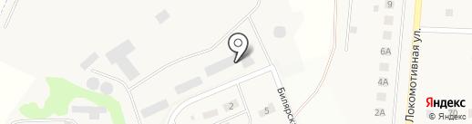Камдорстрой, ЗАО на карте Круглого Поля