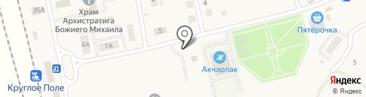 Опорный пункт полиции на карте Круглого Поля