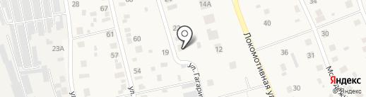 Магазин сантехники и электроустановочной продукции на карте Круглого Поля