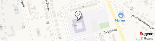 Средняя общеобразовательная школа на карте Круглого Поля