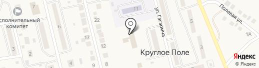 Камское агентство фирменного транспортного обслуживания КбшЖД на карте Круглого Поля