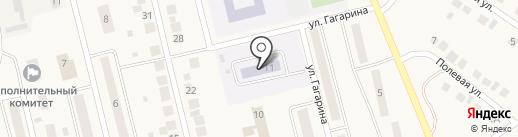Голубой вагон на карте Круглого Поля