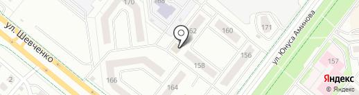 Чистый дом на карте Альметьевска