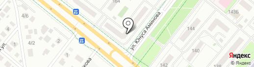 Я люблю на карте Альметьевска