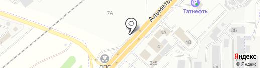 Центр оформления автодокументов на карте Набережных Челнов