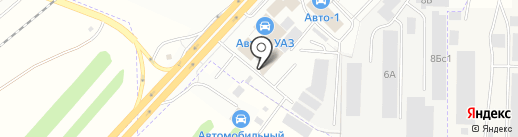 МегаШинТорг на карте Набережных Челнов