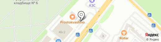 Горилка на карте Альметьевска