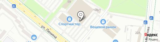 Ганклуб на карте Альметьевска