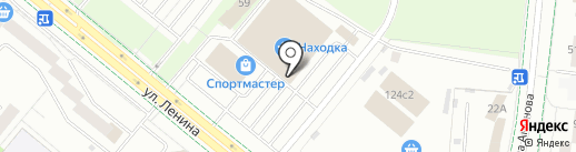 Банкомат, АК Барс банк, ПАО на карте Альметьевска