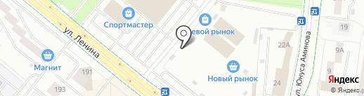 Мастерская по ремонту одежды на карте Альметьевска
