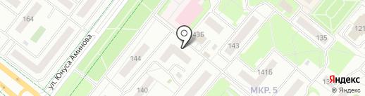 Халял Ит на карте Альметьевска