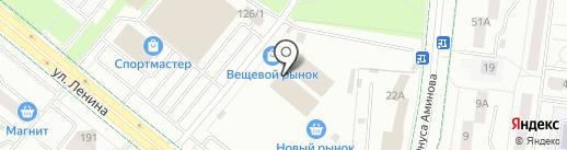 РАДА на карте Альметьевска