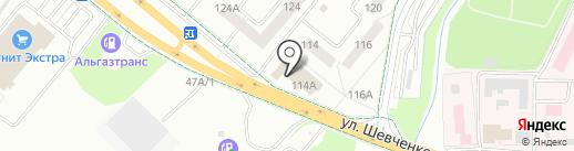 Магазин штор на карте Альметьевска
