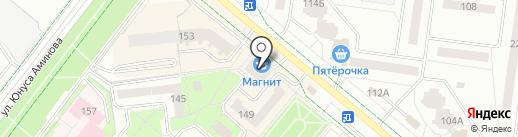Магнит на карте Альметьевска
