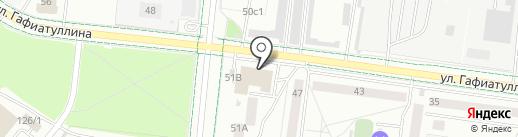 Фирма по установке теплых полов на карте Альметьевска