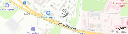 Хадо на карте Альметьевска