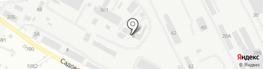 Мехпромзапчасть на карте Набережных Челнов