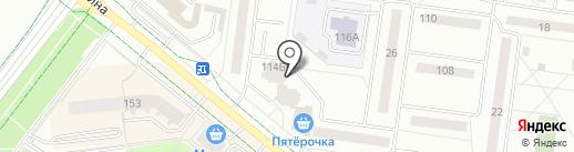 Пивной бочонок на карте Альметьевска