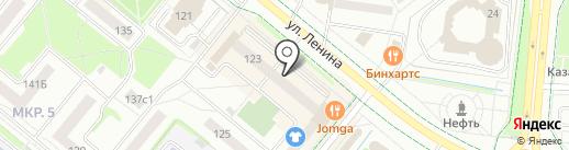 Новатор, ТСЖ на карте Альметьевска