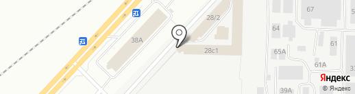 Заречье на карте Набережных Челнов