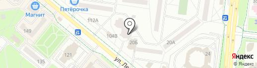 Монолит+ на карте Альметьевска