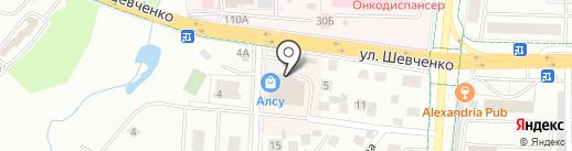 Гармония на карте Альметьевска