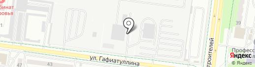 Радиоприбор на карте Альметьевска