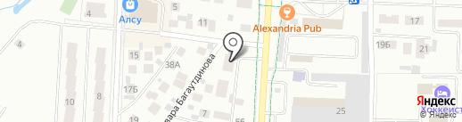 Эхо на карте Альметьевска