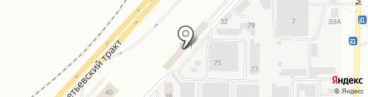 Люстры от Нияза на карте Набережных Челнов