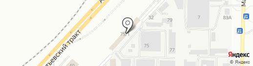 ЧЕЛНЫ-ТЕКСТИЛЬ на карте Набережных Челнов