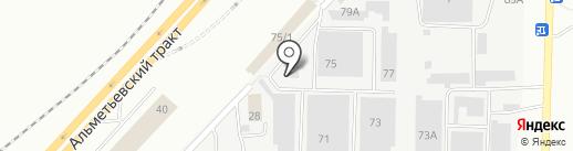 Лавка сладостей на карте Набережных Челнов