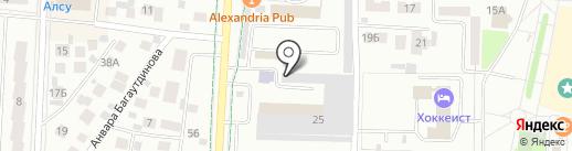 Кадровый центр на карте Альметьевска
