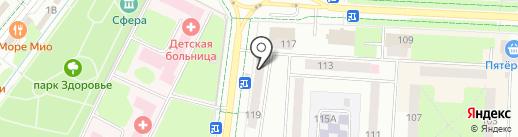 Магазин сухофруктов на карте Альметьевска