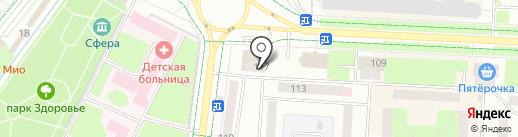 Сеть платежных терминалов, СБЕРБАНК РОССИИ на карте Альметьевска