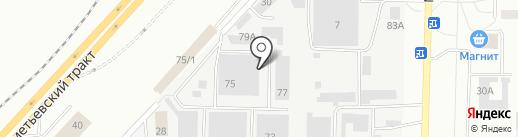 Магазинов пультов и батареек на карте Набережных Челнов