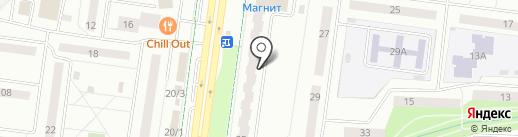 Кубышка на карте Альметьевска