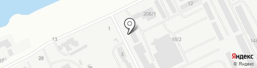 БИГ-НЧ на карте Набережных Челнов