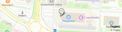 Обувьград на карте Альметьевска