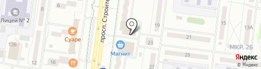 Мастерская по ремонту одежды, обуви и изготовлению ключей на карте Альметьевска